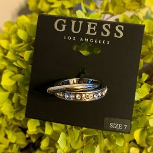 NEW 🔥 Guess Intertwined Ring Size 7